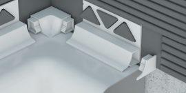 Profilplast Beépíthető Kádszegély Fehér 8mm/2.5m 42151-0101