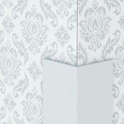 Profilplast Műanyag Sarokprofil Fehér 10mm x 10mm/2.75m 32015-1545