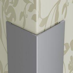 Profilplast Sarokprofil Aluminium Ezüst 12mm x 12mm/2.5m 45237-2502